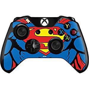 DC Comics Superman Xbox One Controller Skin - Superman Chest Vinyl Decal Skin For Your Xbox One Controller