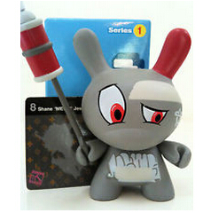 kidrobot dunny dolls for coolection, rare vinyl dunny toys, custom made pvc vinyll figure