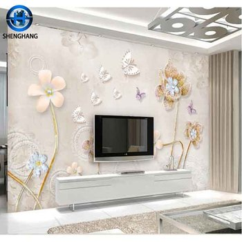 2017 factory price ovenproof 3d 5d home decor pvc wall sticker - buy