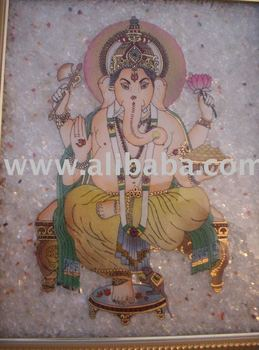 Ganesh 3d Painting - Buy Gem Stone Painting Product on ...