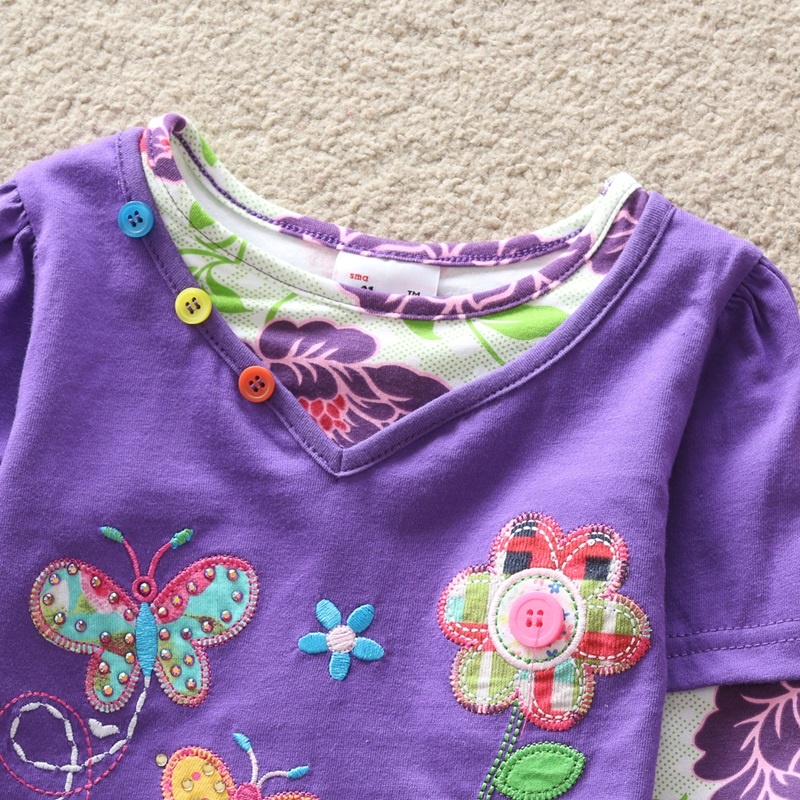 HTB1fM3bfRDH8KJjSszcq6zDTFXaL - Girls Long Sleeve All Year T-Shirt, Long Sleeve, Cotton, Various Designs and Prints