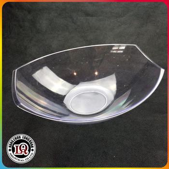 Wholesale plastic clear fresh salad fish shape bowl buy for Plastic fish bowls bulk