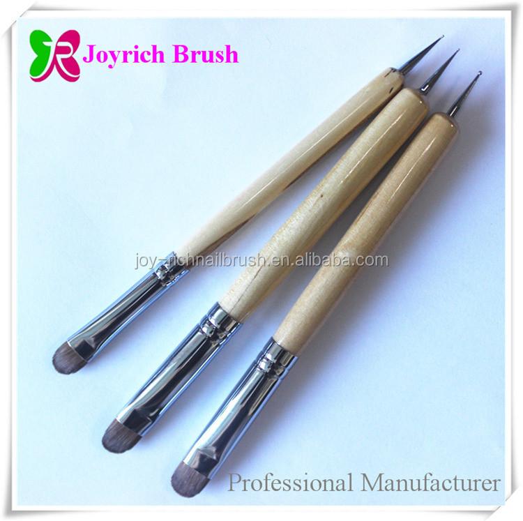 Kolinsky French Nail Brush Nail Care Tools And Equipment - Buy Nail ...