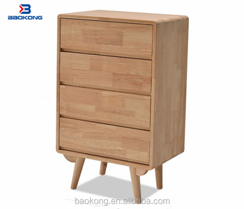Rubber Wood Furniture Kitchen Storage Cabinet Made In Ganzhou Jiangxi China