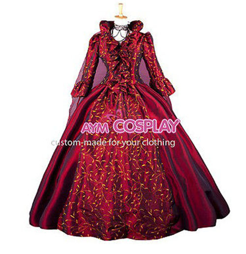 Get Quotations · Hot Sale Victorian ROCOCO Gown Ball dress Gothic Costume  Women Dress 2a1c904031e1
