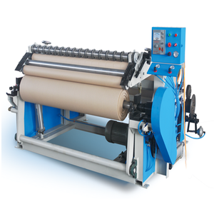 Automatic roll to roll paper slitter and rewinder machinery
