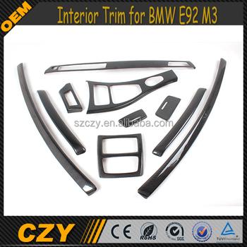 Auto-onderdelen Lhd Carbon Dashboard Interieur Trim Voor Bmw E92 06 ...