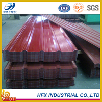 Practical Colored Corrugated Metal Roof Panels with Competitive Price