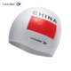National flag custom printing silicone swim cap