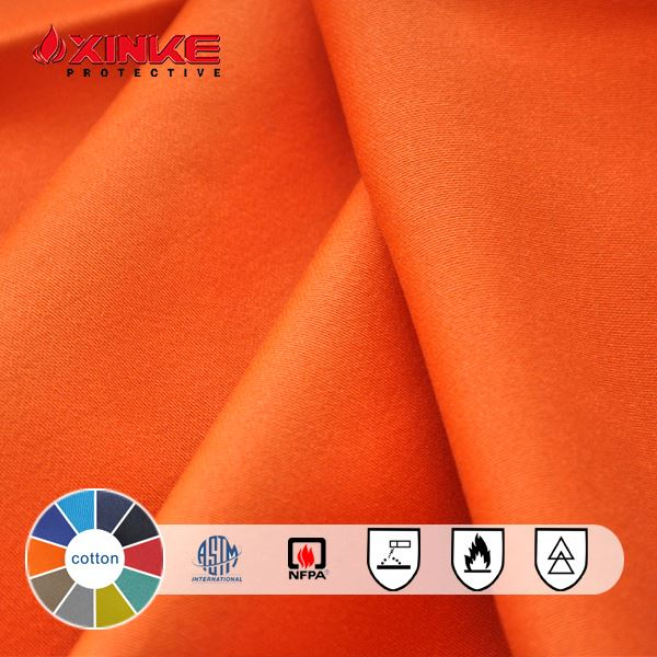 excellent cotton fire retardant fabric for protective clothing/garments/coverall