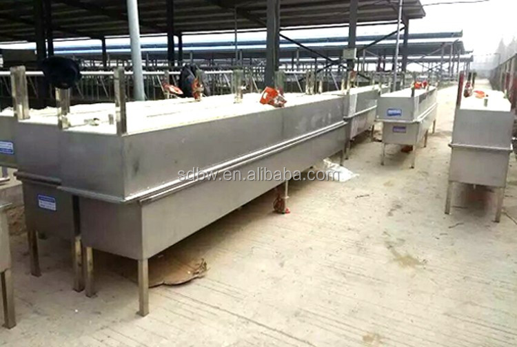 Stainless Steel Trough Sink Calf Water Trough