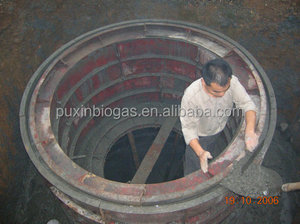PUXIN fermentation tank for household sewage treatment
