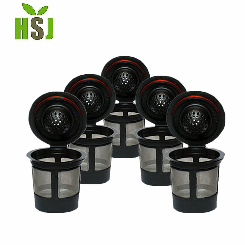 Neue produkt feinmaschigen edelstahl kaffee filter set 4 teile/schachtel