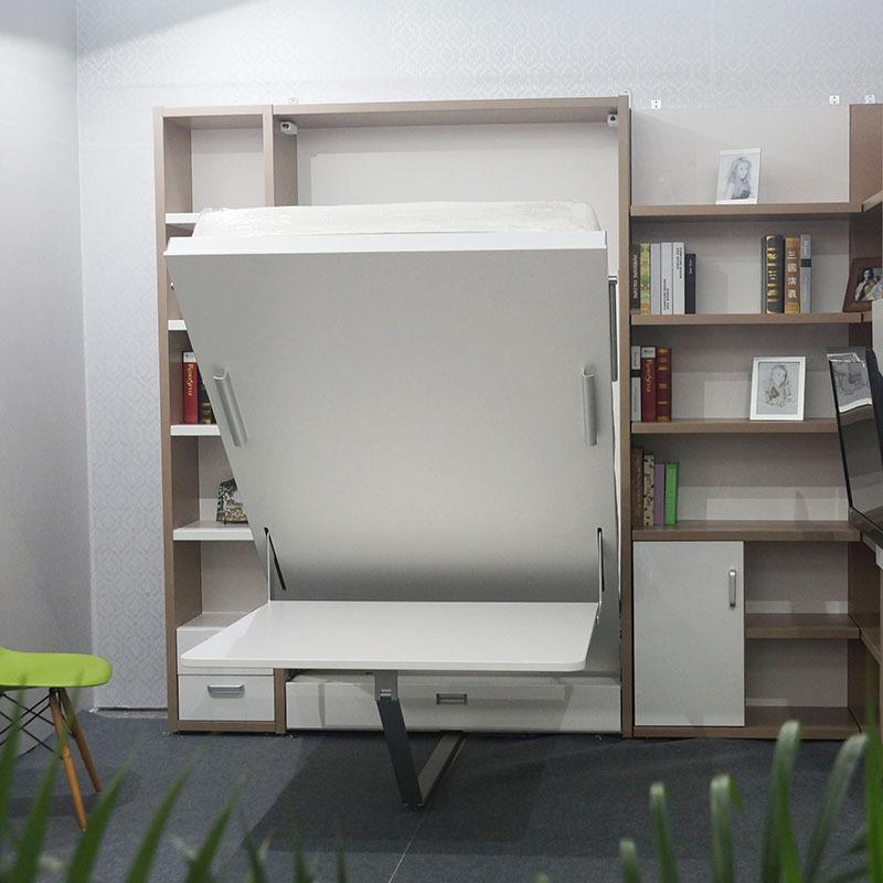 Italian Design Single Wall Bed ,Modern Hotel Space Saving Furniture