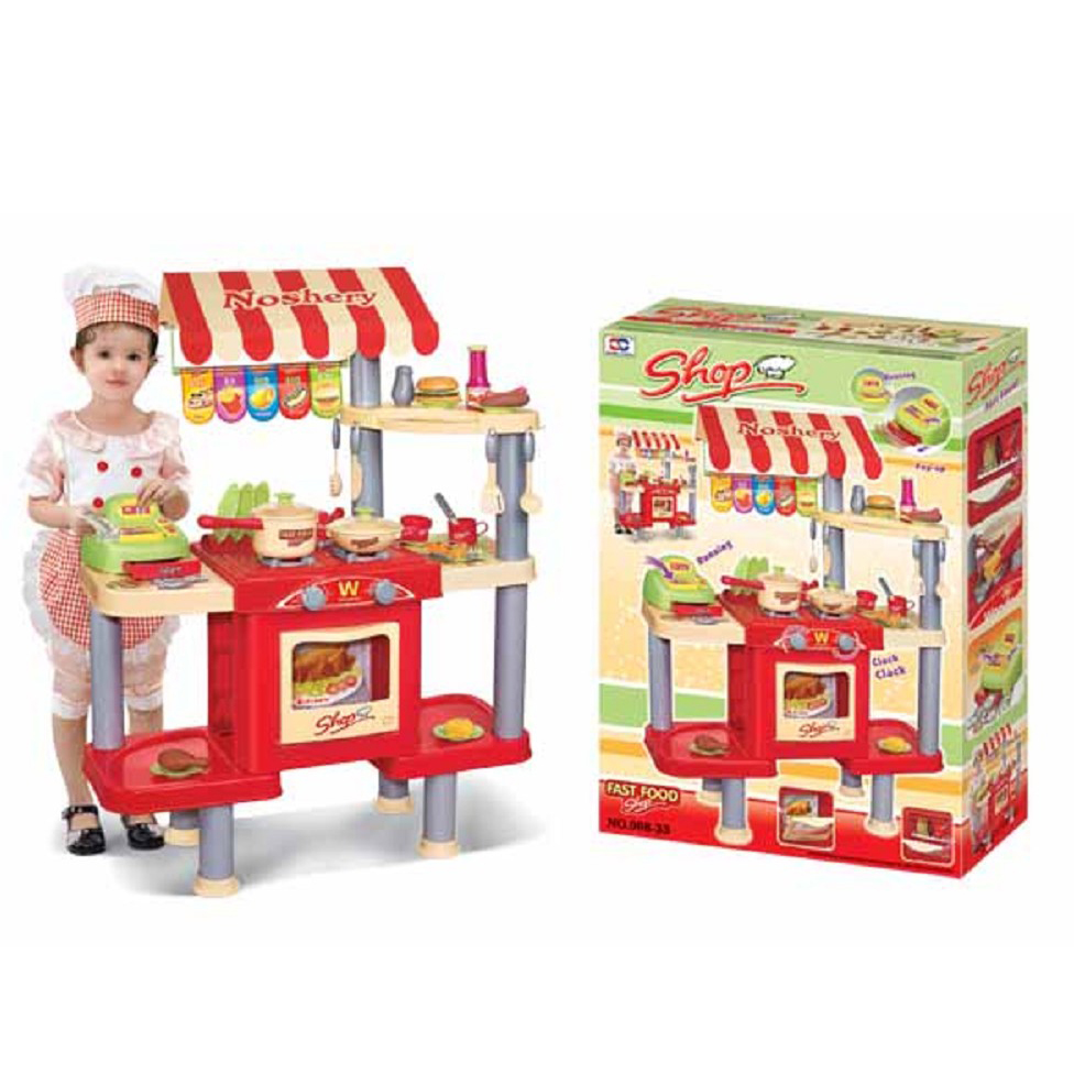 Pretend Play Toy For Kids Kitchen Play Set Toy