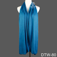 2015 Fashion stripe pattern jersey shawls and scarves