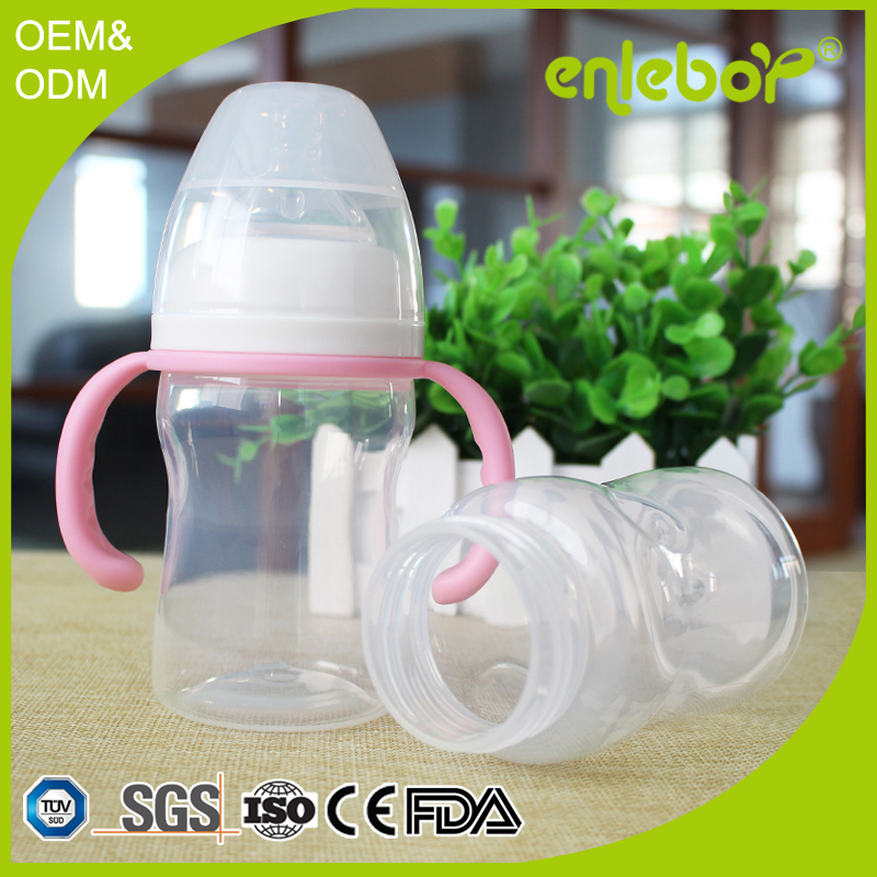 7oz Arc Shaped Wide Neck Bottle Factory Price Baby Bottles In Bulk ...