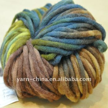 Wool Knitting Chunky Yarn - Buy Machine Knitting Wool Yarn,Fur Knitting Yarn,...