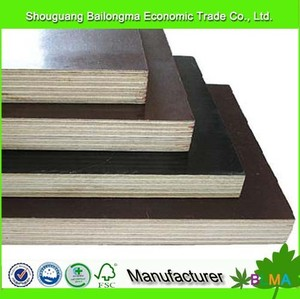 brown / black film faced plywood / shuttering