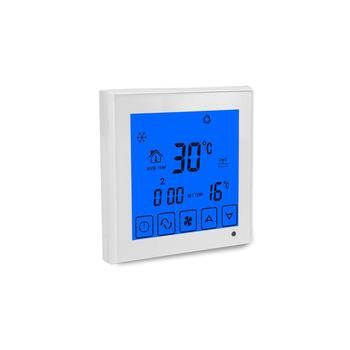 Hotel room touch panel air damper valve temperature controller
