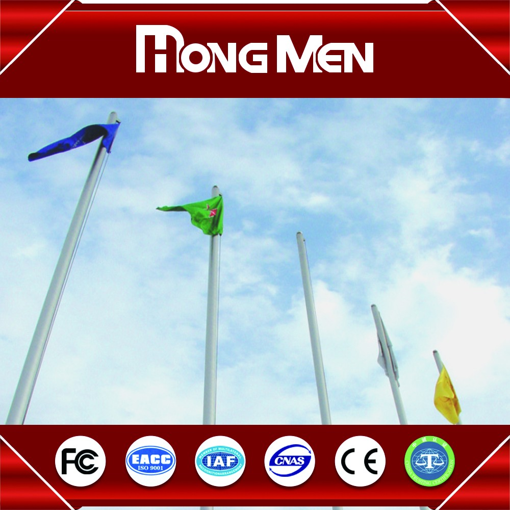 Brilliant Quality ODM flagpole in front of house aluminum telescoping 10 ft flag pole