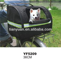Pet products bicycle dog carrier bag