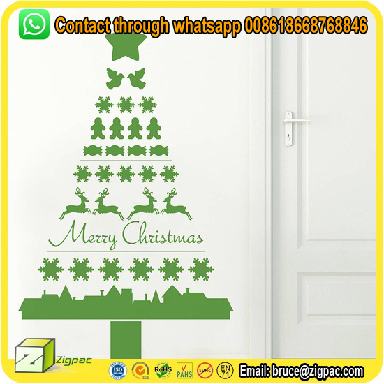 large size home decor pvc paper decal family tree flower christmas wall sticker