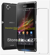 2 x High Quality Clear Glossy Screen Protector Film Guard Cover For Sony Xperia L S36h C2104 C2105 C210X TaoShan