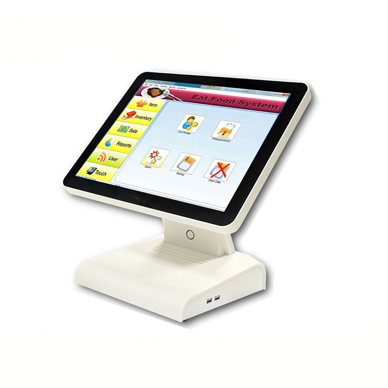 2016 the most competitive 15-inch Touch POS terminal--POS1619 provides with cash register systemnew style daily life and working