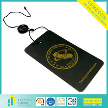 factory custom cardboard paper string jeans hang tags label for kids garment