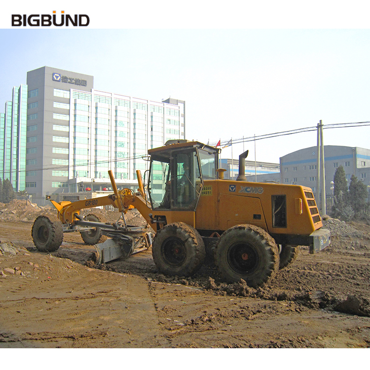 Hot selling small motor grader with ripper