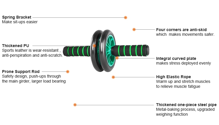 Home gym equipment ab roller wheel exercise