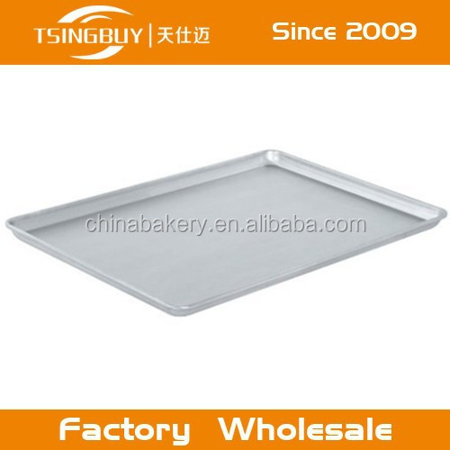 Aluminum sheet bread tray/anodized aluminum bakeware/healthy to bake with aluminum bakeware