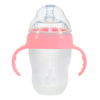 250ml Pink with Handle and Straw