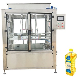 Single nozzle 100-1000ml canola filling machine for oil