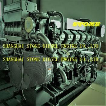 S12U-MPTK S16U-MPTK Mitsubishi auxiliary marine generator engine, View  mitsubishi marine generator, Product Details from Shanghai Stone Diesel  Engine