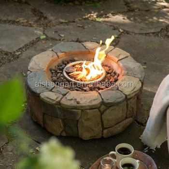 28 Inch Outdoor Clarksville Propane Gas Campfire Fire Pit Buy
