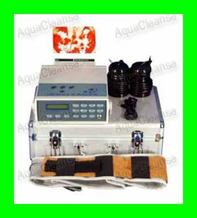 Detox Aqua Cleanse Ion Ionic Foot Bath Spa Fir Belt Z01 Product ...