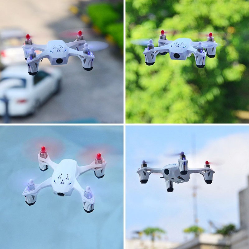 2015 New Professional Drone Hubsan X4 H107D 5.8G Transmitter FPV Quadcopter