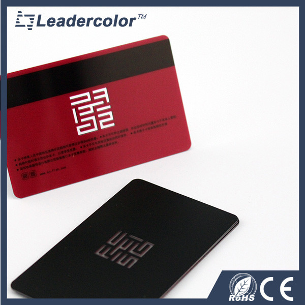 Standard size printing magnetic stripe card maker