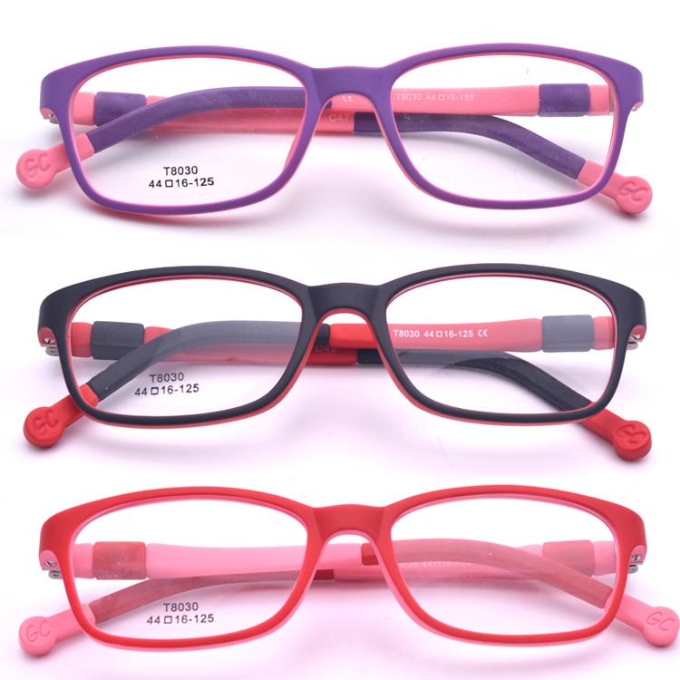 Niños rojos hermosos marcos de los vidrios TR90 vidrio para ojos ...