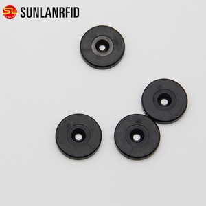 25 mm small round plastic material 125KHz rfid coin tags