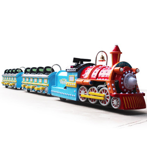 shopping mall machines electric mini trackless train ride
