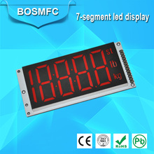 High quality 7 segment display 4 digit for audio equipment led display