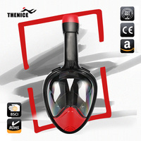 TheNice The New Best Adult Or Kids 180 Seaview Underwater Breathing Scuba Full Face Snorkel And Diving Mask Set