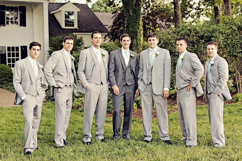Groomsmen Wearing Different Shoes