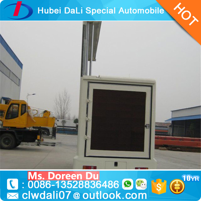 Foton Light Box Advertising Outdoor LED Truck Display Advertising LED Truck