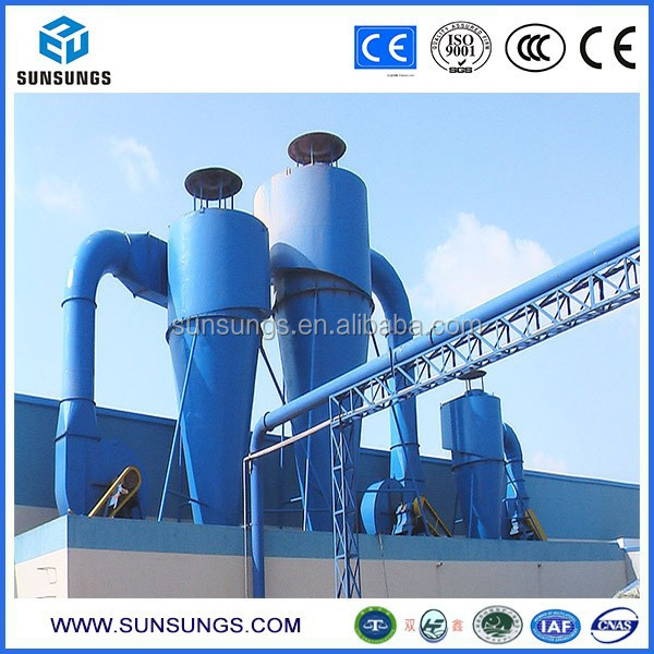 XD High-efficiency many tube dust collector efficiency up to 97% cyclone dust remover