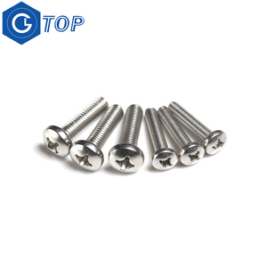 Combination pan head phillips slotted bolt screw