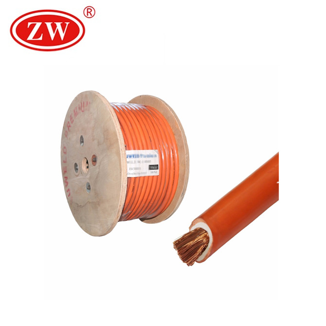 Flexible Car Battery/Welding Cable 0 Gauge 4 Gauge